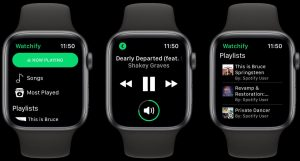Can you use Spotify on apple watch