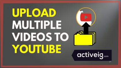How to upload multiple videos on YouTube