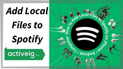 How to Add Local Files to Spotify?