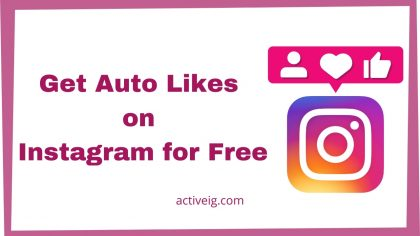 How to get auto likes on Instagram for free