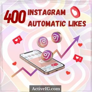 Buy 400 Instagram Automatic Likes