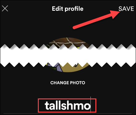 Change Name Of Your Spotify Profile on Mobile