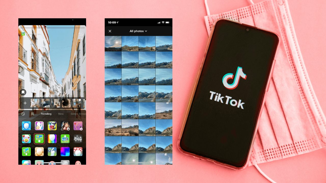 How To Use Photo Background In TikTok Green Screen Effect?