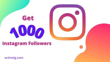 How to get 1000 followers on Instagram in a day