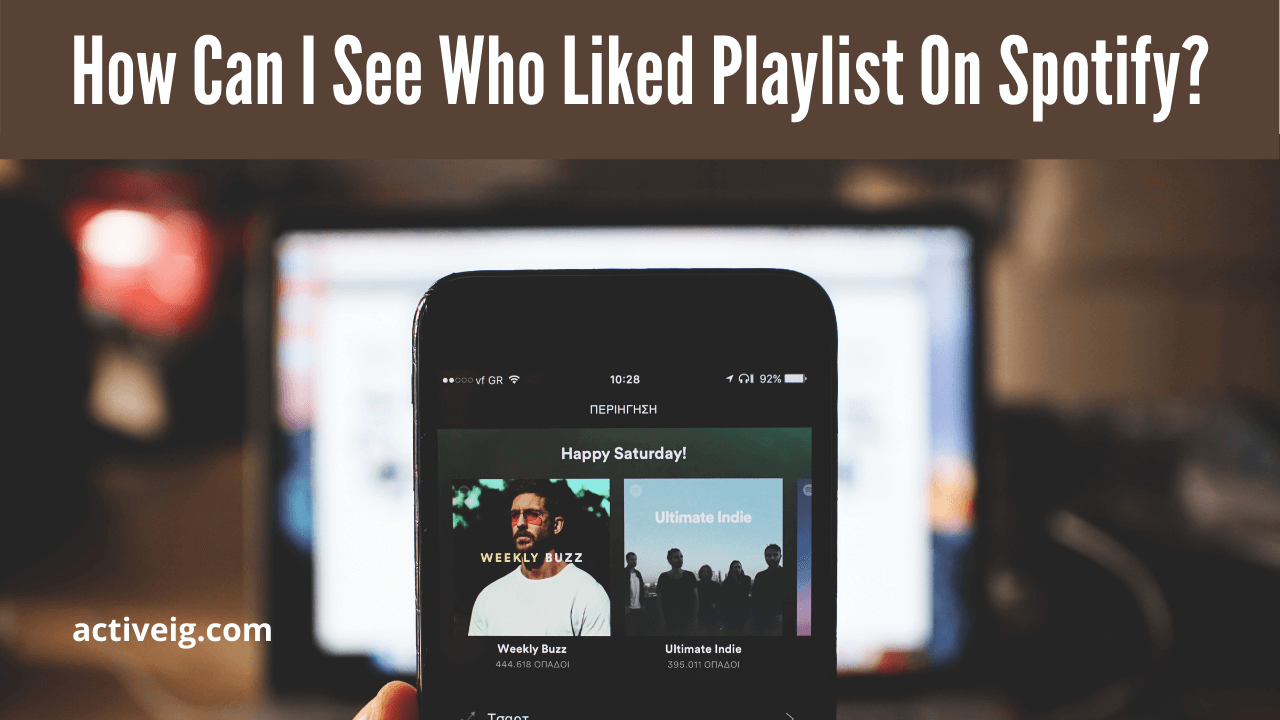 How can i see who like my spotify playlist