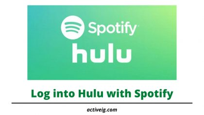 How to Log into Hulu with Spotify?