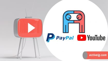 How to connect PayPal to YouTube?