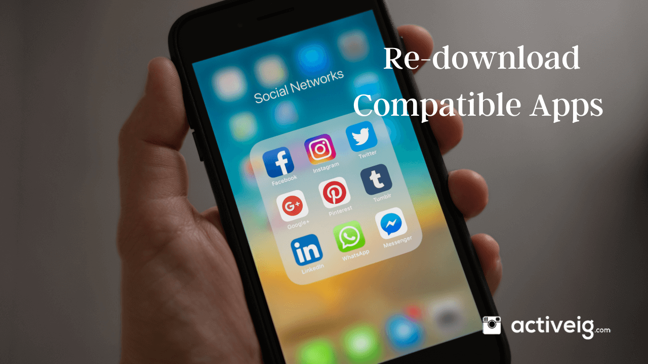 Re-download Compatible Apps You Once Had On Your Device