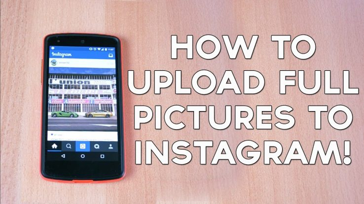 How to post full size photos on Instagram