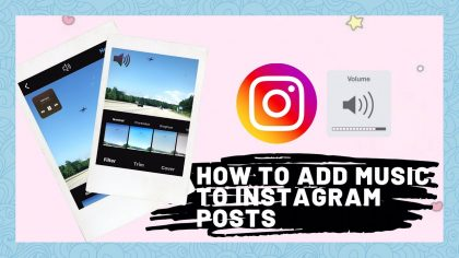 How to Add Music to Instagram Post?